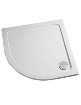 Mira Flight Safe 1000 x 1000mm Quadrant Shower Tray White
