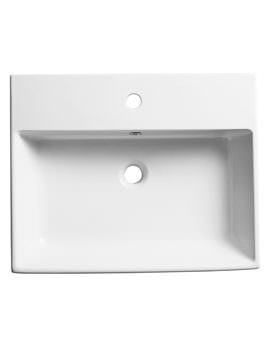 Roper Rhodes Statement 600mm Wall Mounted Or Countertop Basin