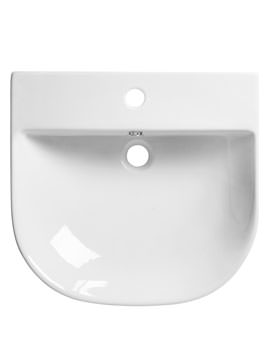 Roper Rhodes Zest 500 x 480mm Wall Mounted Or Countertop Basin