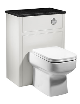 Roper Rhodes Hampton Chalk White Back To Wall Wc Unit 600mm