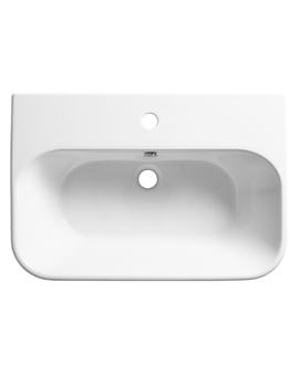 Roper Rhodes Version 650 x 440mm 1 Taphole Wall Mounted Basin