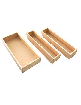 Roper Rhodes Pursuit Beech Storage Boxes - Set of 3