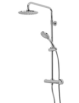 Roper Rhodes Event Round Dual Function Diverter Shower System