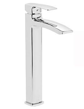 Roper Rhodes Sync Tall Basin Mixer Tap With Click Clack Waste