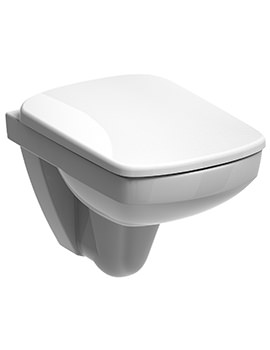Twyford E200 Flushwise 480mm Wall Hung Compact WC Pan