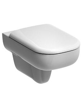 Twyford E500 540mm Flushwise Wall Hung WC Pan