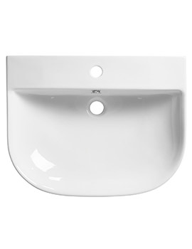 Roper Rhodes Zest 600 x 480mm Wall Mounted Or Countertop Basin