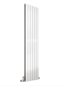 Reina Flat Vertical Double Panel White Radiator 440 x 1800mm