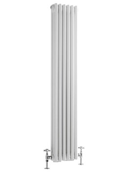 Reina Colona 1500mm High Vertical 3 Column Radiator