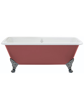Heritage Dorset Cast Iron Freestanding Double Ended Bath With Feet