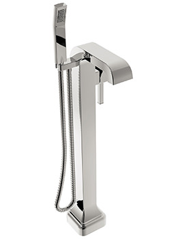 Heritage Somersby Floor Standing Bath Shower Mixer Tap