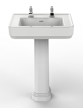 Heritage Wynwood Basin And Full Pedestal