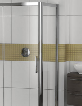 Showerlux Legacy 6mm Clear Glass Shower Side Panel 900mm