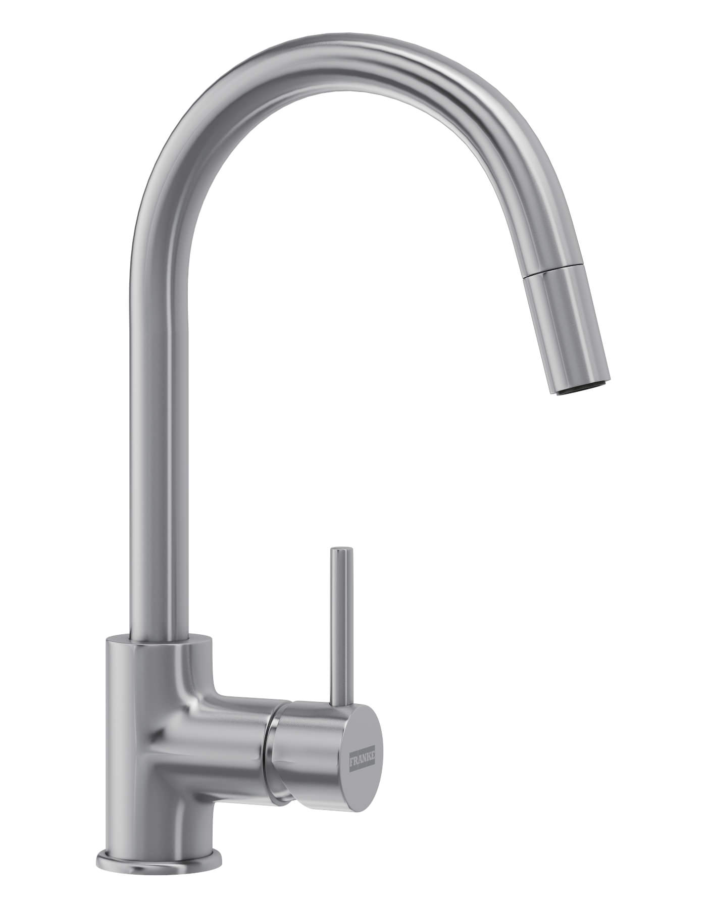Franke Aria Pull-Out Nozzle SilkSteel PVD Kitchen Sink Mixer Tap