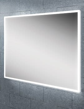 HIB Globe 60 Steam Free LED Illuminated Bathroom Mirror 800 x 600mm