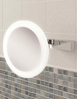 HIB Libra LED Illuminated Magnifying Mirror