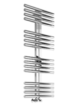 Reina Sorento Polished Stainless Steel Radiator 600 x 1106mm