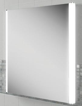 HIB Fahrenheit 60 Portrait Steam Free LED Mirror 600 x 800mm