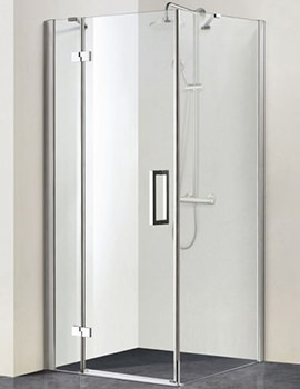 Aqualux Aqua 8 Vibe 900mm Pivot Shower Door
