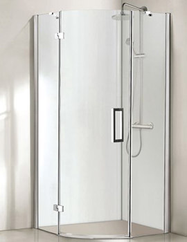 Aqualux Aqua 8 Vibe 1000 x 1000mm Quadrant Shower Enclosure