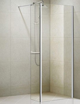 Aqualux Aqua 8 Vibe 1200mm Walk In Shower Panel