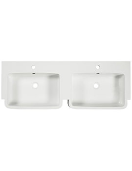 Tavistock Courier 1200mm Isocast Double Basin