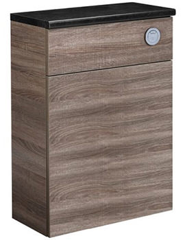 Tavistock Courier 600mm Havana Oak Back To Wall WC Unit