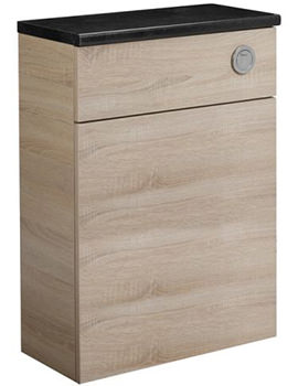 Tavistock Courier 600mm Oregon Oak Back To Wall WC Unit