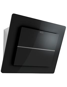Franke Maris Plus FMPL 606 BK B Wall Mounted 600mm Black Glass Kitchen Hood