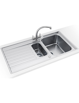 Franke Ascona ASX 651 Propack - Stainless Steel Sink And Tap