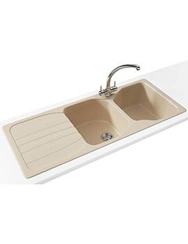 Franke Calypso COG 621 Propack - Fragranite Coffee Sink And Tap