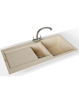 Franke Maris Propack MRG 651 Fragranite Polar White Kitchen Sink And Tap