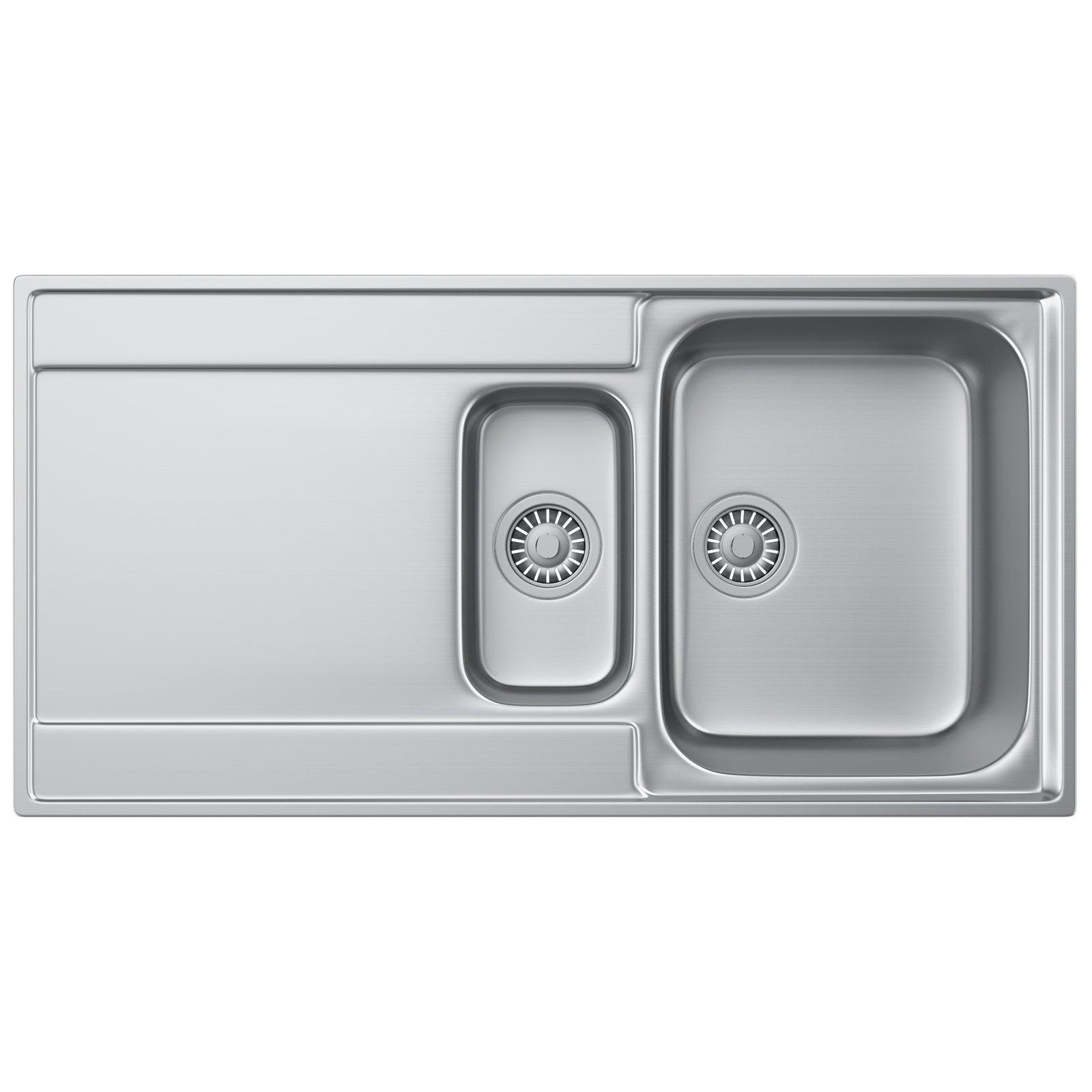 Franke Maris MRX 251 Slim-Top Stainless Steel LHD Inset Sink