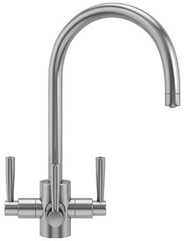 Franke FilterFlow Olympus SilkSteel Kitchen Sink Tap