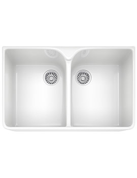 Franke Belfast VBK 720 Ceramic 2.0 Bowl White Kitchen Sink