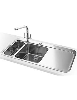 Franke Sinos SNX 261 DP - Stainless Steel 1.5 Bowl RHD Sink And Tap