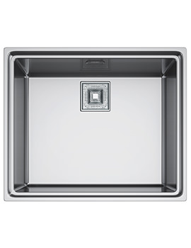 Franke Centinox CEX 210 Stainless Steel Inset Sink And Accessories