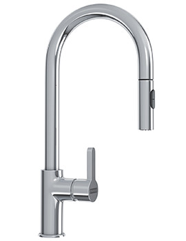 Franke Arena Pull Out Spray Chrome Kitchen Sink Mixer Tap