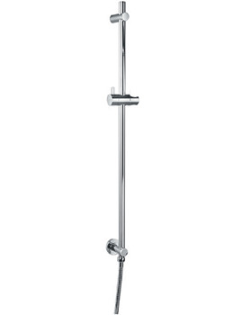 Flova Levo Shower Slide Rail With Integral Wall Outlet