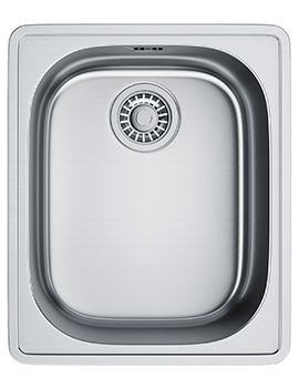 Franke Compact Plus CPX P 610 Stainless Steel Inset Kitchen Sink
