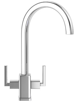 Franke Mythos MTX Chrome Kitchen Sink Mixer Tap