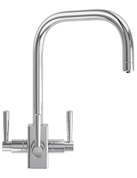 Franke FilterFlow Kubus Chrome Kitchen Sink Tap