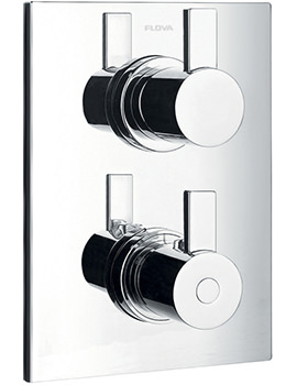 Flova Str8 Trim Kit For Single Outlet Shower Valve