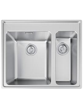Franke Midas MTX 660 34-16 1.5 Bowl Stainless Steel Inset Sink