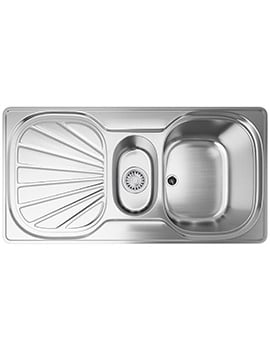 Franke Erica EUX 651 Stainless Steel 1.5 Bowl Inset Sink