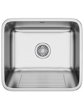 Franke Utility 50 UTX 610 Stainless Steel 1.0 Bowl Inset Sink