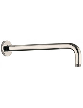 Crosswater Nickel Wall Mounted 330mm Shower Arm