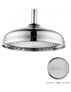 Crosswater Belgravia Chrome 300mm Fixed Shower Head