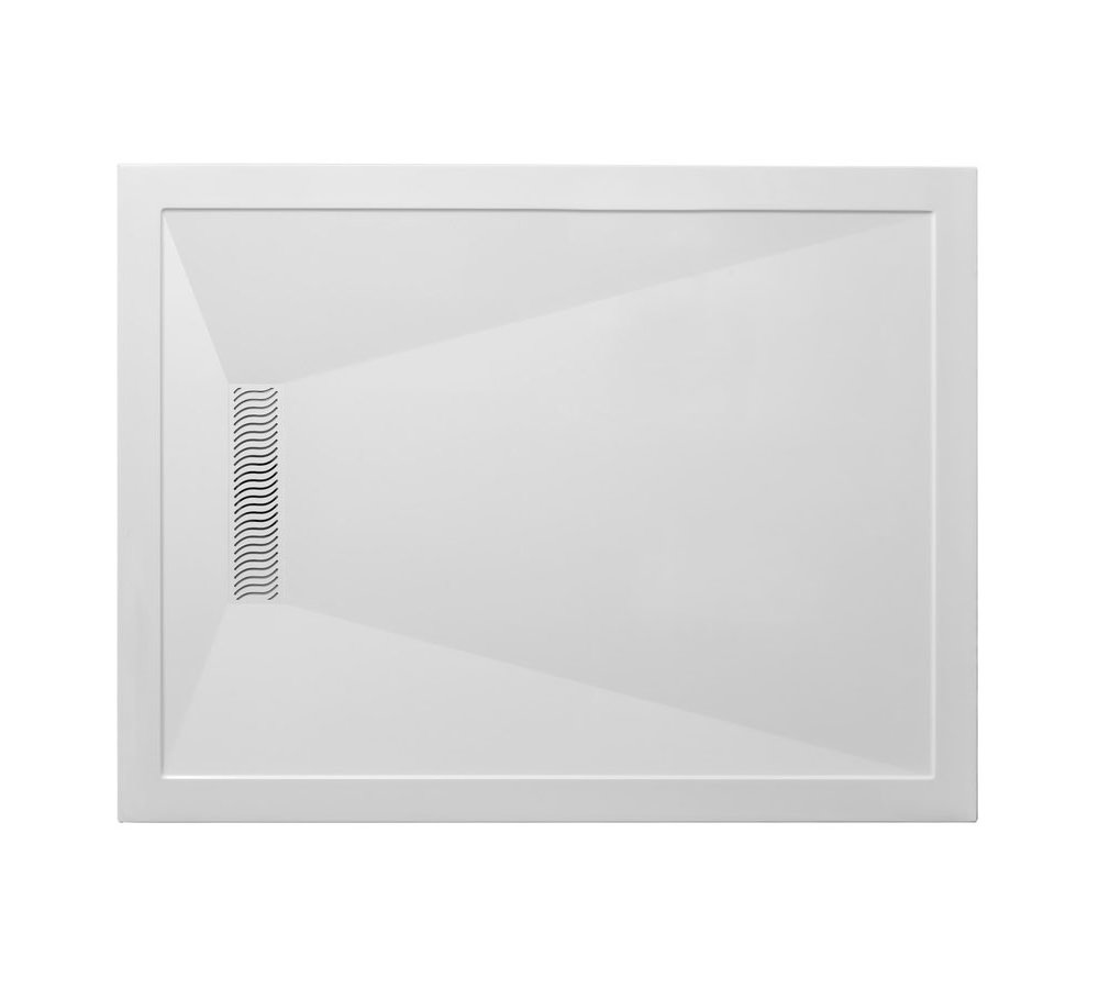 Simpsons Rectangular 1700mm Shower Tray With Linear Waste