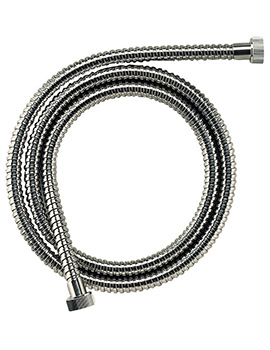 Croydex Flexitube Stainless Steel Shower Hose 1500mm
